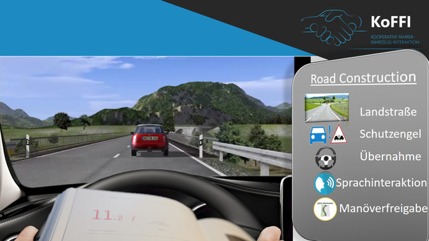KoFFI – Kooperative Fahrer-Fahrzeug-Interaktion