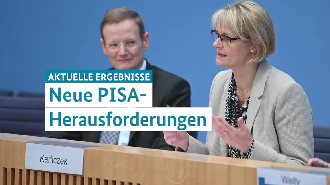 Poster zum Video Vorstellung PISA-Ergebnisse 2018 (im Dez. 2019)