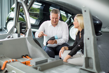 """Elektrofahrzeuge, die zu großen Teilen wiederverwendet werden können, ertüftelt das Forschungsteam von """"KOSEL""""."""