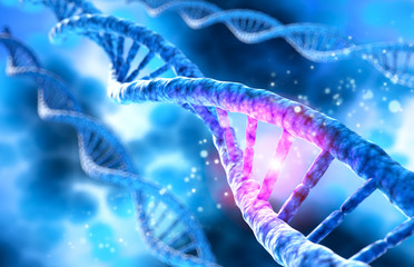 DNA-Helix - 3D Visualisierung