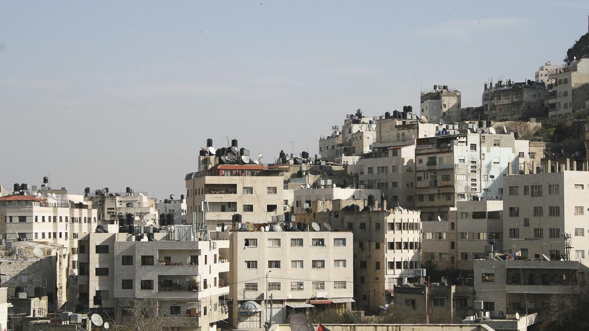 Blick auf Ramallah