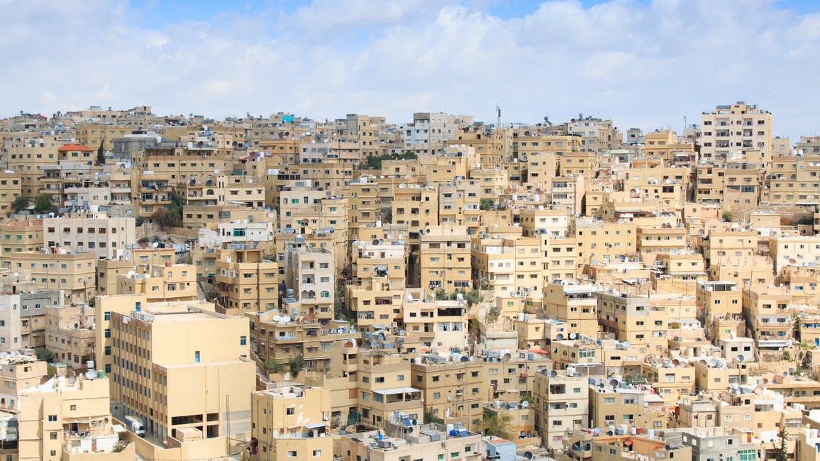 Panorama von Amman, der Hauptstadt Jordanien