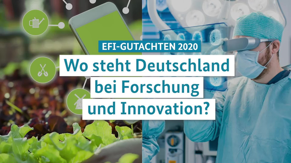 Poster zum Video EFI-Gutachten 2020: Statement der BM'in Anja Karliczek am 19.02.2020 in Berlin