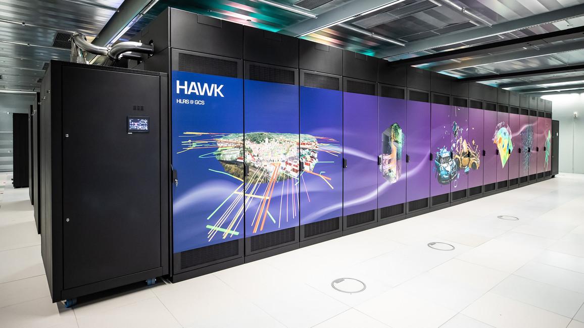 Einweihung Supercomputer HAWK
