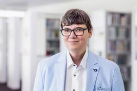 Sibylle Quenett / Pressesprecherin der Ministerin und Leiterin des Pressereferates