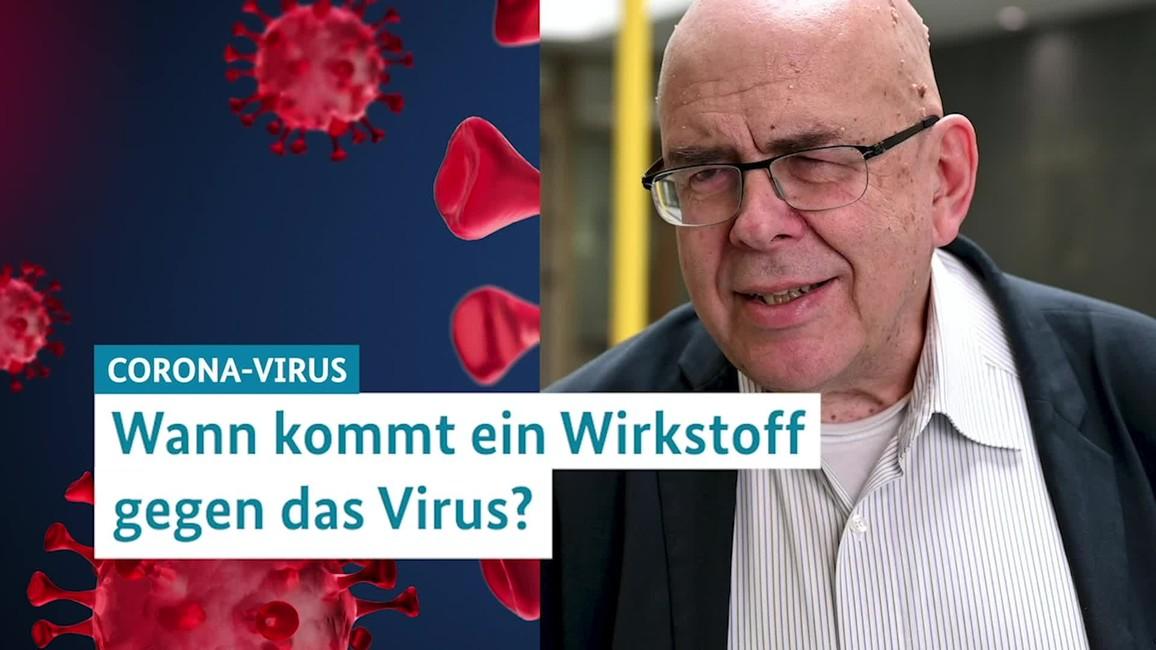 Poster zum Video Coronavirus - Prof. Rolf Hilgenfeld erklärt, wie der Wirkstoff zu den Patienten kommt