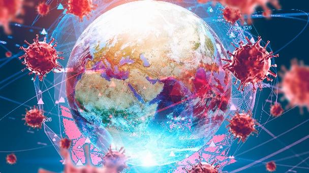 Weltweites Virus