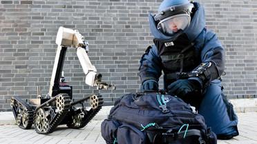 Entschärfer der Bundespolizei