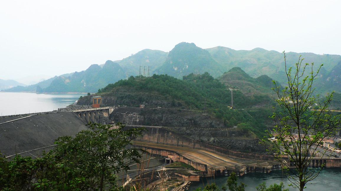 Hoa-Binh Staudamm
