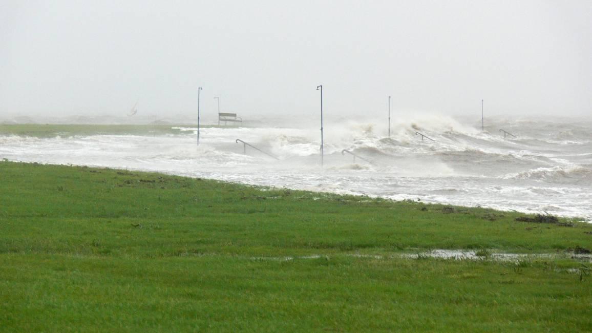 Sturmfluten gehören zu den größten Bedrohungen an der Nordseeküste.