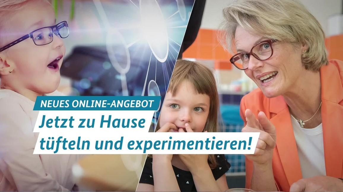 """Poster zum Video MINT-Angebote für zu Hause: """"Wir bleiben schlau!"""""""