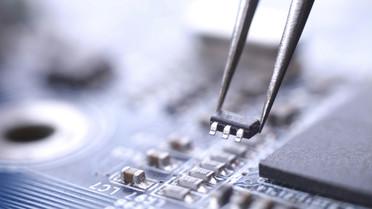 Installation eines Mikrochips