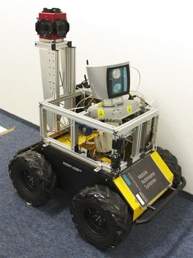 Rohstoff-Erkundung per Roboter: Ein autonomes Fahrzeug, das deutsche Wissenschaftler gemeinsam mit Unternehmern konstruierten, erfasst das Innenleben von Lagerstätten untertage