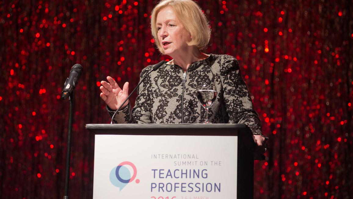 International Summit on the Teaching Profession 2016