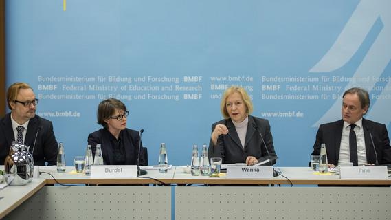 Pressegespräch zum Deutschlandstipendium