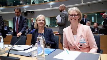 Bundesforschungsministerin Anja Karliczekbei der Sitzung des EU-Wettbewerbsfähigkeitsrats im September 2019