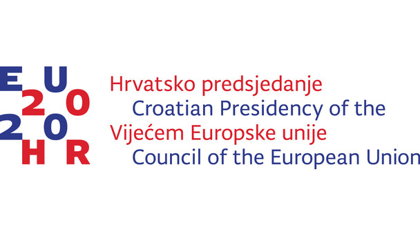Logo der kroatischen EU-Ratspräsidentschaft