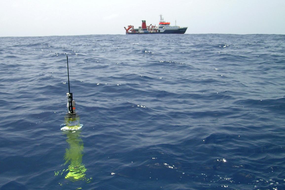 Bojen Argo Floats Ozeane