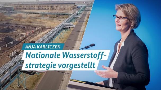 Poster zum Video Nationale Wasserstoffstrategie vorgestellt