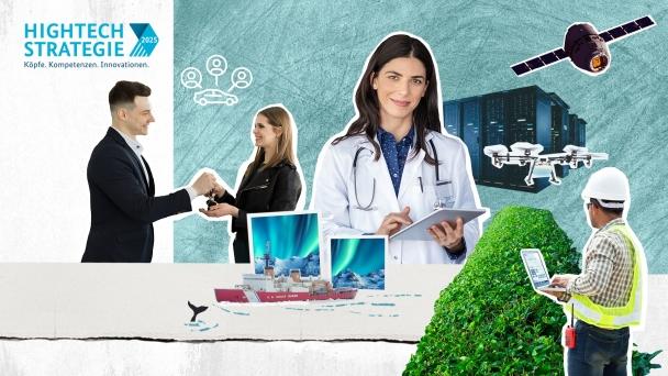 Poster zum Video Zukunft gestalten – die Hightech-Strategie der Bundesregierung