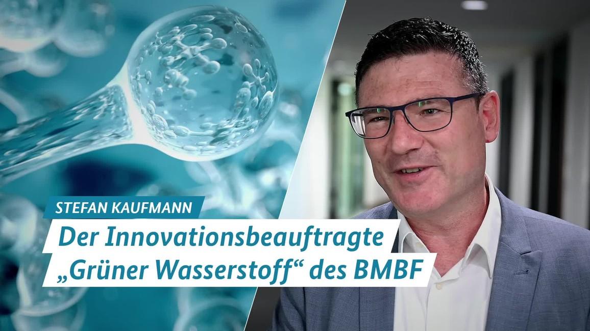 Poster zum Video Grüner Wasserstoff: Der Innovationsbeauftragte des BMBF