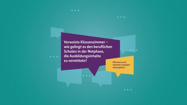Poster zum Video Bildungsdialoge Folge 2: Ministerin Karliczek im Gespräch mit BDA-Präsident Ingo Kramer