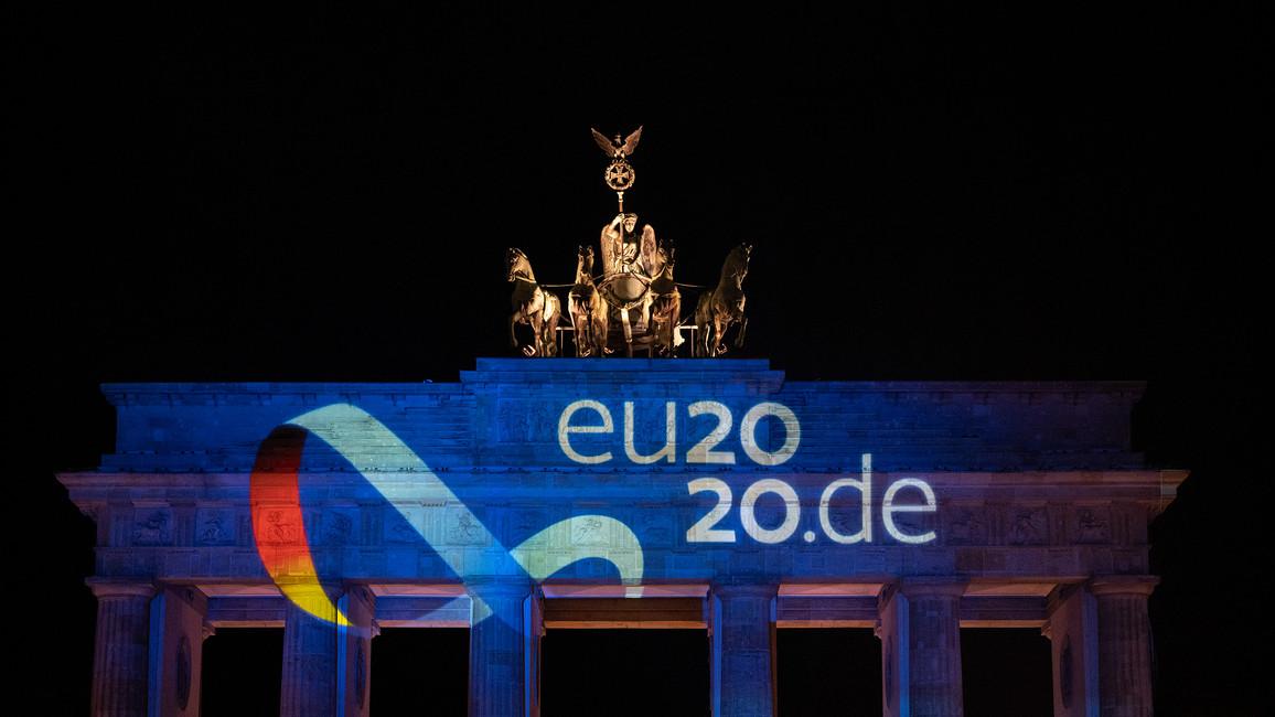Illumination am Brandenburger Tor