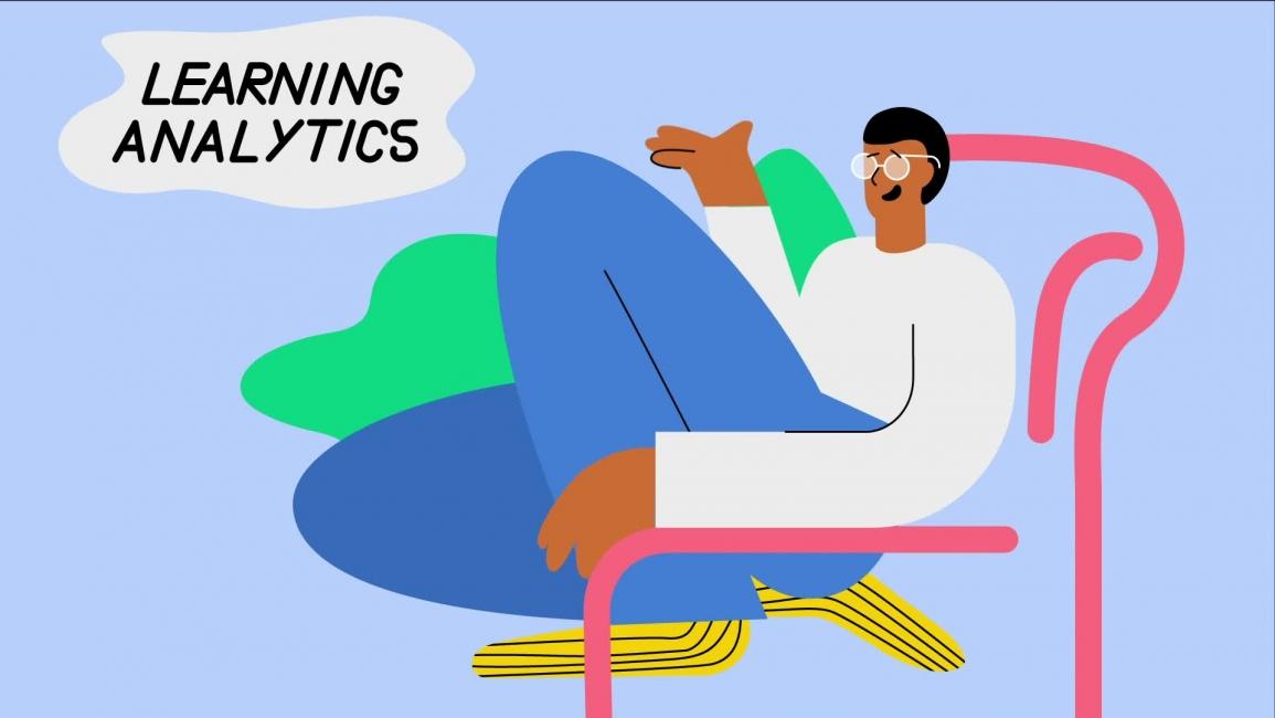 Poster zum Video Studienschwierigkeiten - Wie Learning Analytics Bashir helfen können