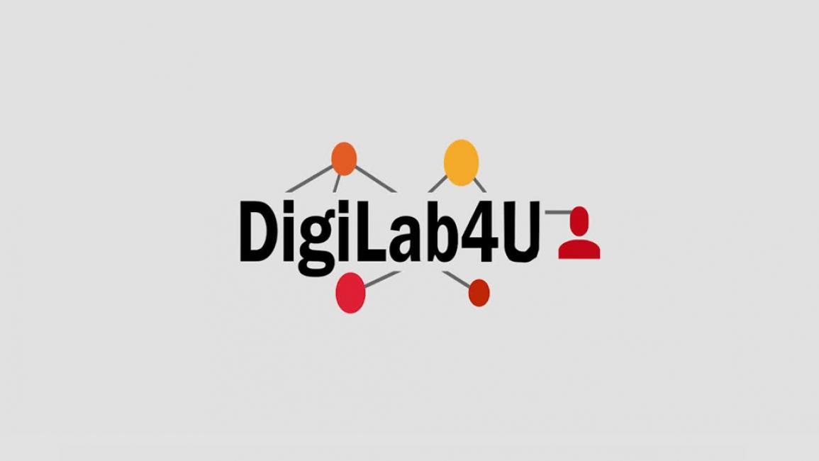 Poster zum Video DigiLab4U - Labore vernetzen für Bildung und Forschung