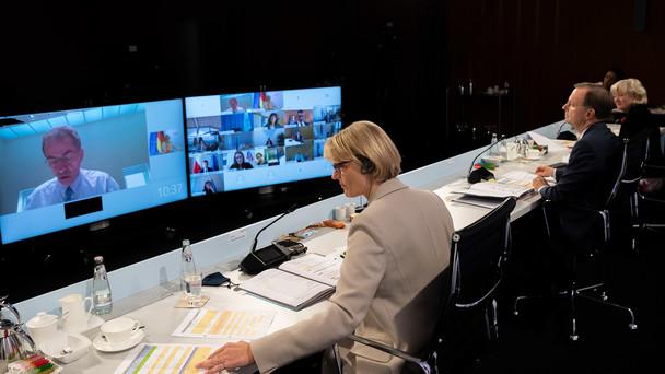 Informeller WBF-Rat als Videokonferenz