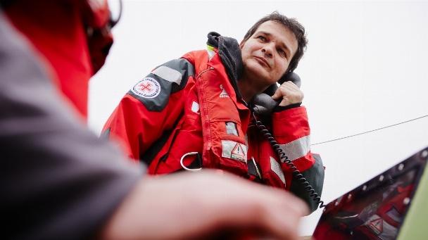 Bei der Rettung Schiffbrüchiger auf Nord- und Ostsee muss die Kommunikation funktionieren.