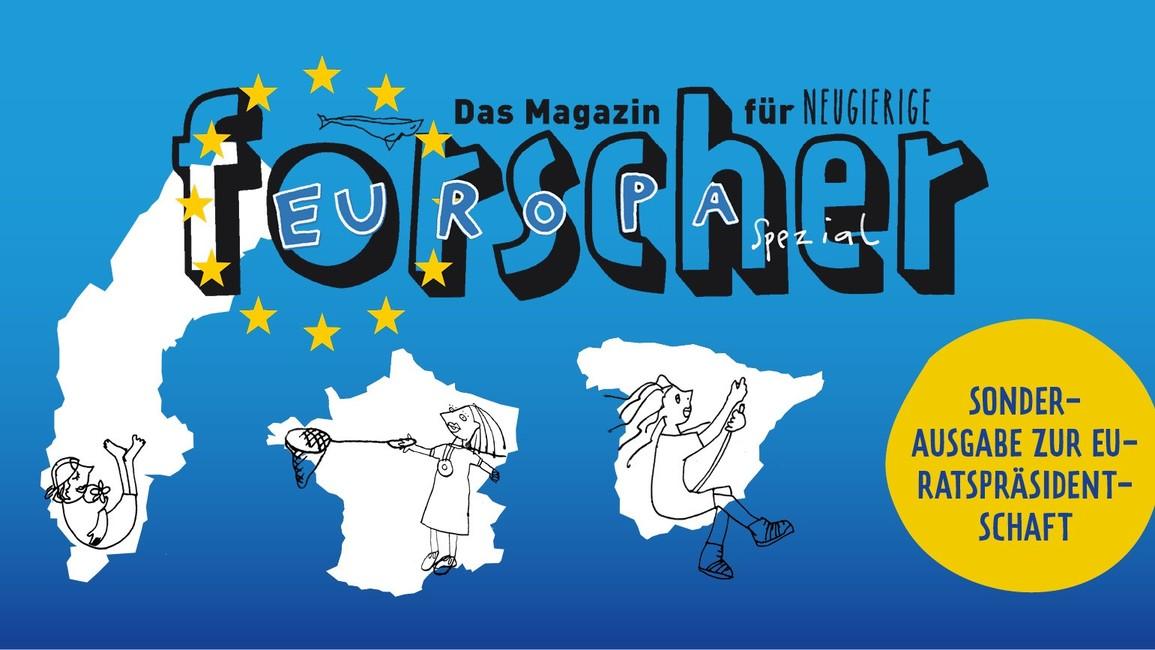 Deckblatt Forscher-Magazin