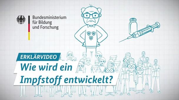 Poster zum Video Wie wird ein Impfstoff entwickelt? – mit Untertiteln