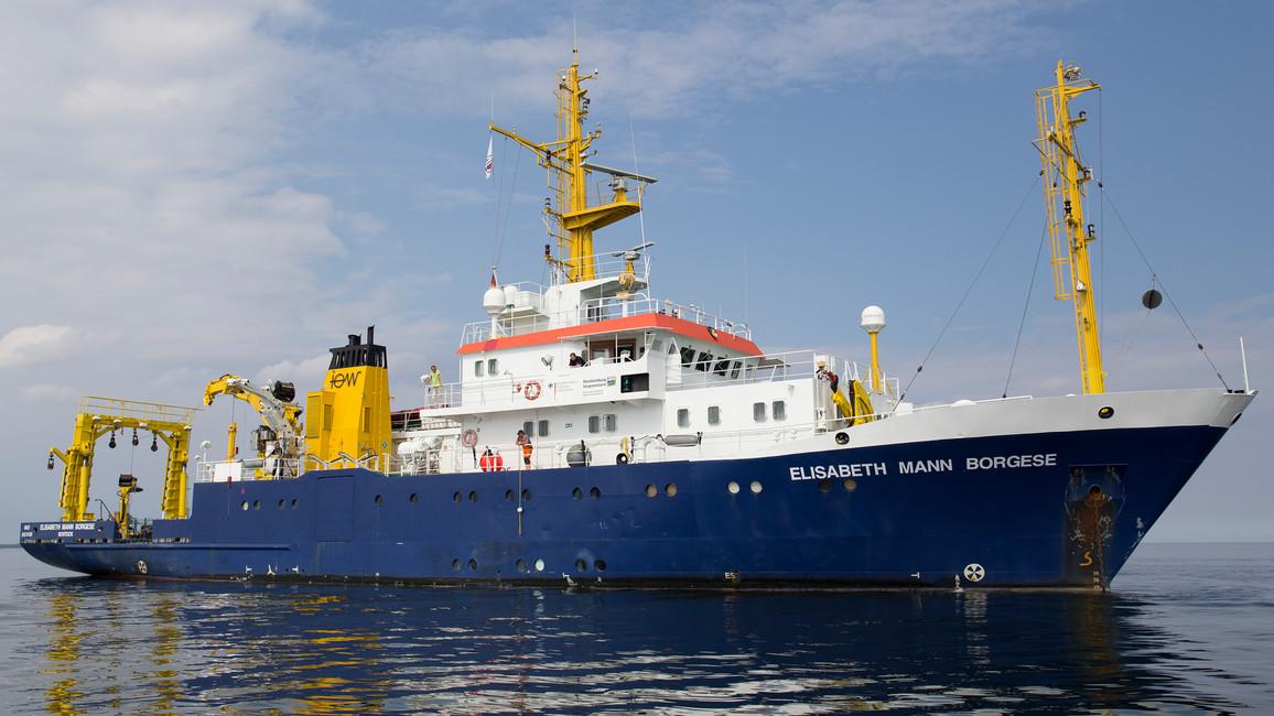 Forschungsschiff ELISABETH MANN BORGESE