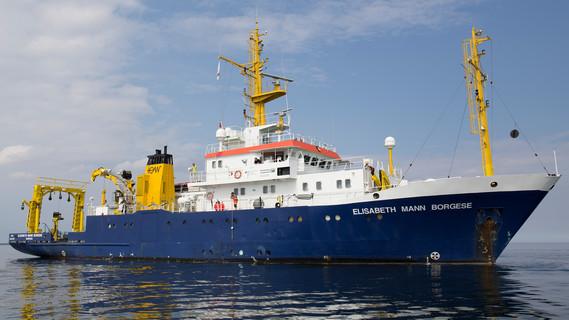 Das Forschungsschiff 'Elisabeth Mann Borgese'