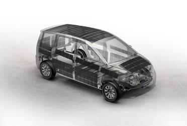 Im Elektroauto Sion von Sono Motors sind die handlichen ZEBRA-Solarzellen ein wesentlicher Bestandteil, denn sie sind flächendeckend in die Karosserie integriert.