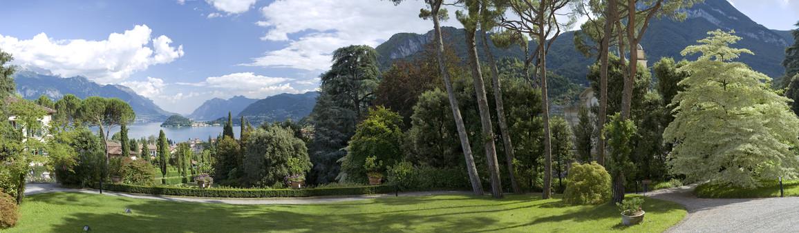 Panoramablick von der Villa Vigoni