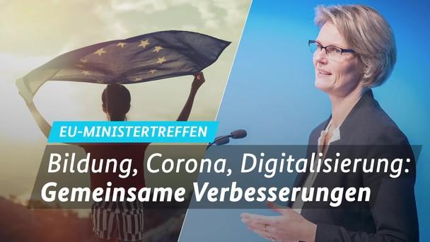 Poster zum Video Karliczek empfängt EU-Bildungsminister in Osnabrück