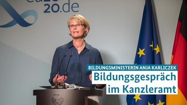 Poster zum Video PK Bildungsgipfel mit Ministerin Anja Karliczek