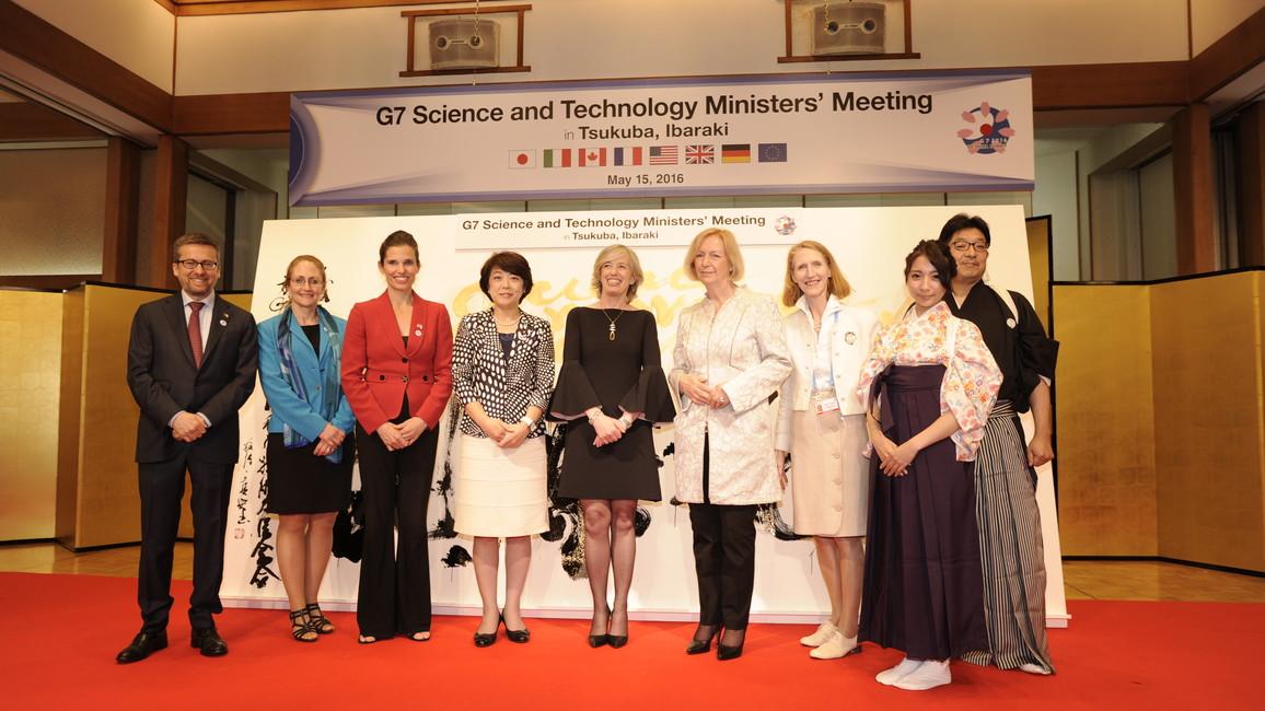 G7-Wissenschaftsministertreffen in Japan