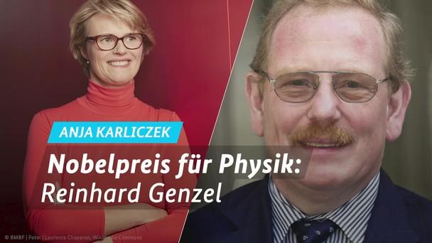 Poster zum Video Nobelpreis für Physik 2020 - Statement Anja Karliczek