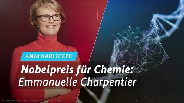Poster zum Video Chemienobelpreis 2020: Emmanuelle Charpentier