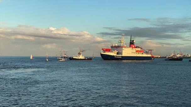 Poster zum Video 201012_Rückkehr Forschungsschiff Polarstern aus der Arktis