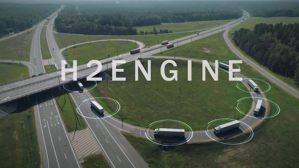 Poster zum Video H2Engine: eine neue Generation von Wasserstoffmotoren