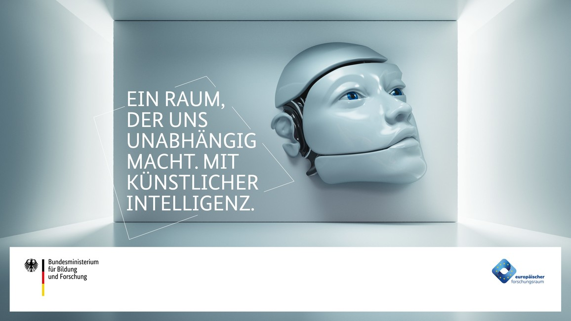 Plakat zum Auftakt der Kampagne zum Europäischen Forschungsraum.