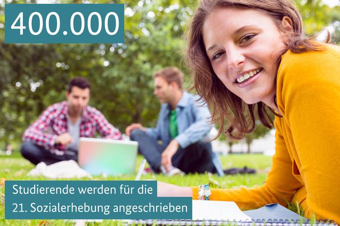 400.000 Studierende werden für die 21. Sozialerhebung angeschrieben
