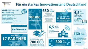 Infografik Innovationsland Deutschland