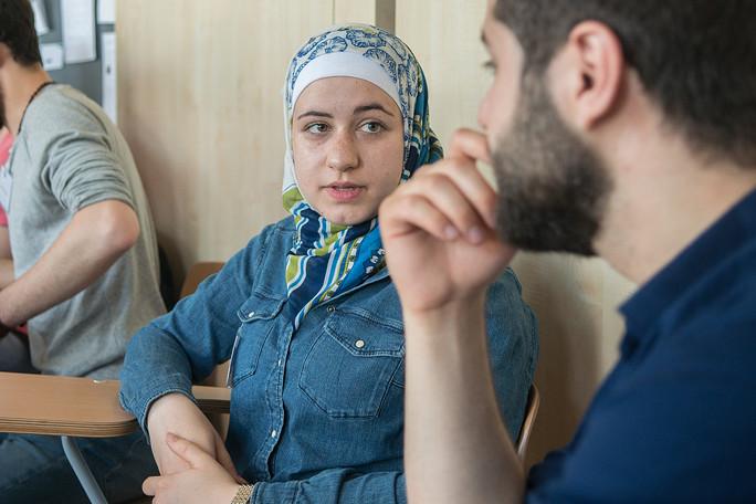 Raghad Koko aus Syrien