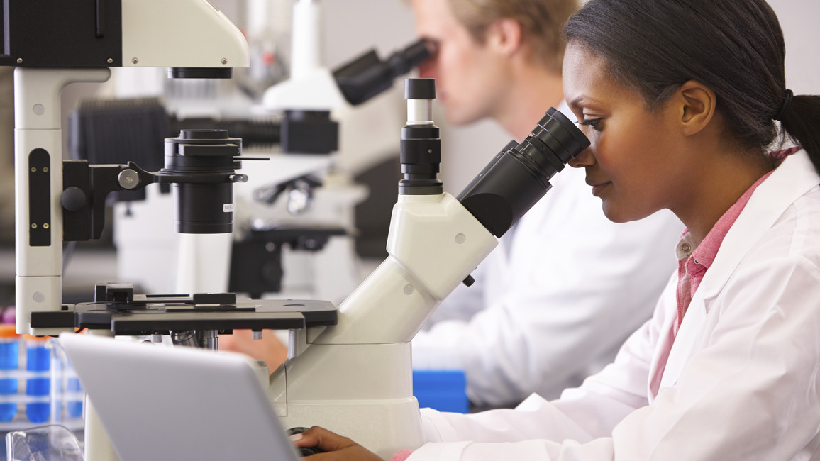 Wissenschaftler im Labor