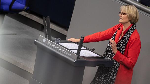 Bundesministerin Anja Karliczek im Rahmen der Aktuellen Stunde.